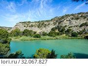 Natural Site of the Gaitanes Gorge in Ardales, Málaga, Andalusia, Spain, Europe. Стоковое фото, фотограф José Luis Hidalgo Salguero / easy Fotostock / Фотобанк Лори