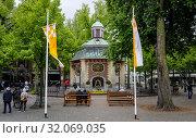 Купить «Chapel of Grace, Kevelaer, North Rhine-Westphalia, Germany», фото № 32069035, снято 5 мая 2019 г. (c) Caro Photoagency / Фотобанк Лори