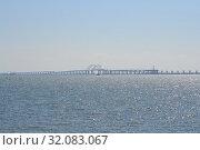 Крымский мост. Стоковое фото, фотограф Виктор Бартенев / Фотобанк Лори