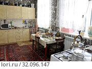 Купить «Russia, Dagestan, Kubachi, interior house», фото № 32096147, снято 19 сентября 2018 г. (c) age Fotostock / Фотобанк Лори