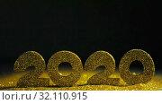 Купить «Happy New Year 2020», видеоролик № 32110915, снято 1 сентября 2019 г. (c) Иван Михайлов / Фотобанк Лори