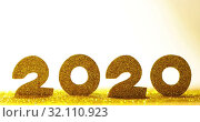 Купить «Happy New Year 2020», видеоролик № 32110923, снято 1 сентября 2019 г. (c) Иван Михайлов / Фотобанк Лори