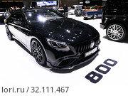 Mercedes-Benz R190 AMG GT 63S Brabus 800 (2019 год). Редакционное фото, фотограф Art Konovalov / Фотобанк Лори