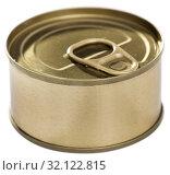 Golden tin can. Стоковое фото, фотограф Яков Филимонов / Фотобанк Лори
