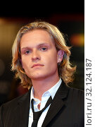 Tom Glynn Carney during the red carpet of film ' The King ' at the 67th Venice Film Festival, Venice, ITALY-02-09-2019. Редакционное фото, фотограф Maria Laura Antonelli / AGF/Maria Laura Antonelli / age Fotostock / Фотобанк Лори
