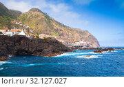 Landscape of Porto Moniz, Madeira (2017 год). Стоковое фото, фотограф EugeneSergeev / Фотобанк Лори