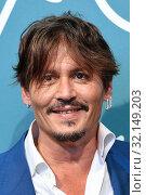 Купить «Johnny Depp, Mark Rylance during 'Waiting for the Barbarians' film photocall, 76th venice Film Festival, Venice 06/09/2019.», фото № 32149203, снято 6 сентября 2019 г. (c) age Fotostock / Фотобанк Лори