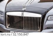 Купить «Logo and emblem Rolls Royce», фото № 32150847, снято 19 мая 2018 г. (c) FotograFF / Фотобанк Лори