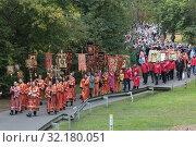 Крестный ход из Ильинского в Усово. Редакционное фото, фотограф Дмитрий Неумоин / Фотобанк Лори