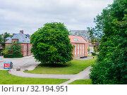 Купить «Army barracks in the Kastellet (Citadel), Copenhagen, Denmark», фото № 32194951, снято 15 ноября 2019 г. (c) Николай Коржов / Фотобанк Лори