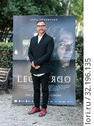 The director Jesus Garces Lambert during the photocall of film ' Io Leonardo ' Rome, ITALY-18-09-2019. Редакционное фото, фотограф Cristiano Minichiello / AGF/Cristiano Minichiello / age Fotostock / Фотобанк Лори