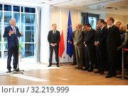 Купить «23.05.2011 Brussels, Belgium. Pictured: Jerzy Buzek, Donald Tusk, Herman Van Rompuy, Jose Manuel Barroso, Radoslaw Sikorski, Bogdan Klich», фото № 32219999, снято 22 октября 2019 г. (c) age Fotostock / Фотобанк Лори