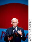 11.06.2012 Warsaw, Poland. `Teraz Polska` Gala. Pictured: Jerzy Buzek. Редакционное фото, фотограф Brykczynski Donat / age Fotostock / Фотобанк Лори