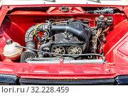 Купить «Tuned turbo car engine of Lada car», фото № 32228459, снято 18 мая 2019 г. (c) FotograFF / Фотобанк Лори