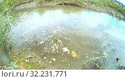 Купить «Ливневая городская канализация (ливневка). Сточные воды», видеоролик № 32231771, снято 13 января 2013 г. (c) Mikhail Erguine / Фотобанк Лори