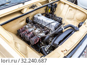 Купить «Tuned turbo car engine of Lada car», фото № 32240687, снято 19 мая 2018 г. (c) FotograFF / Фотобанк Лори