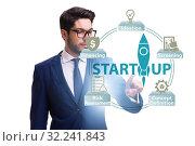 Купить «Concept of start-up and entrepreneurship», фото № 32241843, снято 22 ноября 2019 г. (c) Elnur / Фотобанк Лори