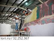 Sri Lanka, Southern Province, Sud du Sri Lanka, Süd Sri Lanka, South Sri Lanka, bateaux, Boote, boats, bateau, Boot, boat, Sail Lanka charter, usine, Fabrik, factory. Стоковое фото, фотограф Stephan Engler / age Fotostock / Фотобанк Лори