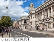 Купить «Уайтхолл. Лондон. Великобритания», фото № 32256851, снято 17 августа 2019 г. (c) Сергей Афанасьев / Фотобанк Лори