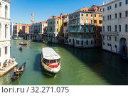 Canal Grande in Venice (2019 год). Редакционное фото, фотограф Яков Филимонов / Фотобанк Лори