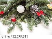 Christmas decorations. Стоковое фото, фотограф Юлия Бабкина / Фотобанк Лори