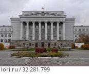 Здание УрФУ в Екатернбурге. Редакционное фото, фотограф Максим Гулячик / Фотобанк Лори