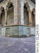 Купить «Green Palace, 1929, Saadabad Palace, Tehran, Iran.», фото № 32294035, снято 3 мая 2019 г. (c) age Fotostock / Фотобанк Лори