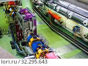 Facility of synchrotron in Laboratory. Стоковое фото, фотограф Яков Филимонов / Фотобанк Лори