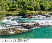 Купить «River Oldeelva. Olden. Norway», фото № 32296267, снято 7 августа 2020 г. (c) Николай Коржов / Фотобанк Лори