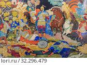 Купить «Palekh traditional miniature, Palekh, Ivanovo region, Russia.», фото № 32296479, снято 7 сентября 2018 г. (c) age Fotostock / Фотобанк Лори