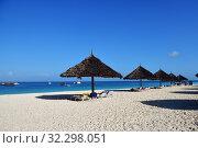 Купить «Kendwa resort, Zanzibar, Tanzania, Africa», фото № 32298051, снято 6 октября 2019 г. (c) Знаменский Олег / Фотобанк Лори