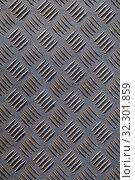 Купить «Текстура рифленого металла», фото № 32301859, снято 27 марта 2014 г. (c) Игорь Долгов / Фотобанк Лори