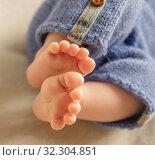 Ножки малыша. Стоковое фото, фотограф Степанова М Е / Фотобанк Лори