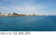 Купить «Mediterranean traffic along Pernera, Cyprus», видеоролик № 32306255, снято 20 октября 2019 г. (c) Володина Ольга / Фотобанк Лори