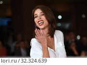Vittoria Schisano during the red carpet of film Judy at the 14th Rome Film Festival, Rome, ITALY-22-10-2019. Редакционное фото, фотограф Maria Laura Antonelli / AGF/Maria Laura Antonelli / age Fotostock / Фотобанк Лори