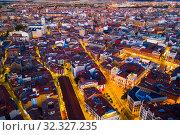 City of Valladolid at night, (2019 год). Стоковое фото, фотограф Яков Филимонов / Фотобанк Лори
