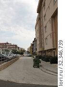 Улица города Святой Влас, Болгария (2019 год). Редакционное фото, фотограф Носов Руслан / Фотобанк Лори