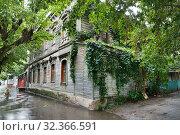 Купить «Рязань, улица Кудрявцева, дом 32», эксклюзивное фото № 32366591, снято 10 августа 2019 г. (c) Dmitry29 / Фотобанк Лори