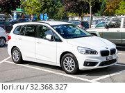 Купить «BMW 2-series Gran Tourer», фото № 32368327, снято 14 сентября 2019 г. (c) Art Konovalov / Фотобанк Лори