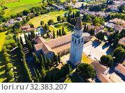 Basilica di Santa Maria Assunta in Aquileia, world Heritage (2019 год). Стоковое фото, фотограф Яков Филимонов / Фотобанк Лори