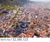 Купить «Basilica in Spanish town of Xativa», фото № 32386123, снято 16 апреля 2019 г. (c) Яков Филимонов / Фотобанк Лори