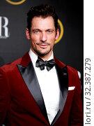 Купить «David Gandy Model receives the 'best male style' award from Harper's Bazaar magazine.Palacio de Santoña, Madrid (Spain).November 5, 2019.», фото № 32387279, снято 5 ноября 2019 г. (c) age Fotostock / Фотобанк Лори
