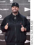 Nicky Jam attends Los 40 Music Awards at Wizink Center on November 8, 2019 in Madrid, Spain. Редакционное фото, фотограф Manuel Cedron / age Fotostock / Фотобанк Лори