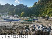 Philippines. Seascape in El Nido (2018 год). Редакционное фото, фотограф Степанов Илья / Фотобанк Лори