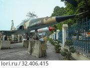 Купить «Американский лёгкий многоцелевой истребитель Northrop F-5 Freedom Fighter во Вьетнамском музее военной истории. Ханой, Вьетнам», фото № 32406415, снято 9 января 2016 г. (c) Виктор Карасев / Фотобанк Лори