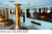 Купить «Pilsner Urquell brewery», фото № 32410635, снято 10 октября 2019 г. (c) Яков Филимонов / Фотобанк Лори
