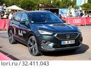 Купить «SEAT Tarraco», фото № 32411043, снято 17 сентября 2019 г. (c) Art Konovalov / Фотобанк Лори