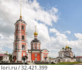 Купить «Trinity-Varnitsky monastery in Rostov», фото № 32421399, снято 11 мая 2019 г. (c) Юлия Бабкина / Фотобанк Лори