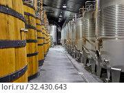 Купить «Regina Viarum Winery, Ribeira Sacra, Heroic Viticulture, Sil river canyon, Sober, Lugo, Galicia, Spain», фото № 32430643, снято 23 мая 2019 г. (c) age Fotostock / Фотобанк Лори