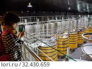 Купить «Regina Viarum Winery, Ribeira Sacra, Heroic Viticulture, Sil river canyon, Sober, Lugo, Galicia, Spain», фото № 32430659, снято 23 мая 2019 г. (c) age Fotostock / Фотобанк Лори
